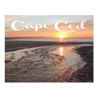Nascer do sol de Cape Cod, Provincetown, cartão