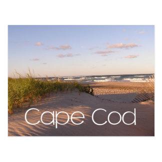 Nascer do sol sobre a praia Cape Cod, Cartão Postal