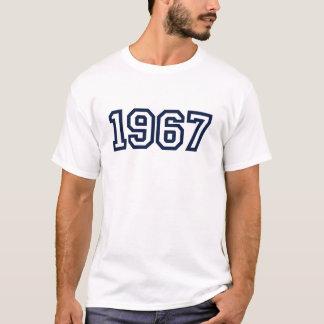 Nascer em 1967 camiseta
