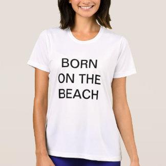Nascer na praia camiseta