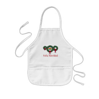 Natal 2 de Bolívia Avental Infantil