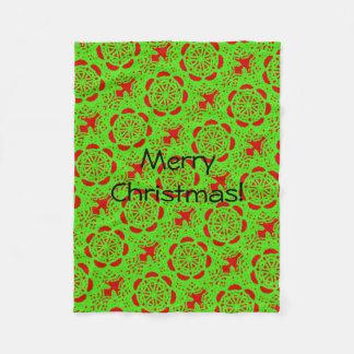 Natal acolhedor cobertor de lã