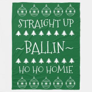 Natal Ballin Cobertor De Lã