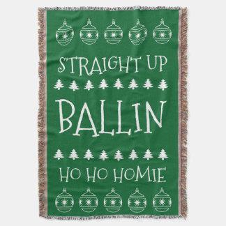 Natal Ballin Throw Blanket