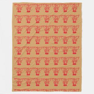 Natal Bels Cobertor De Lã