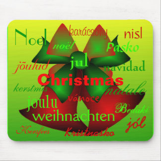 """Natal Bels de todo o mundo "" Mouse Pad"