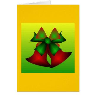 Natal Bels IV Cartão Comemorativo