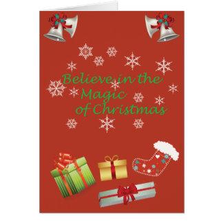 Natal Cartão Comemorativo