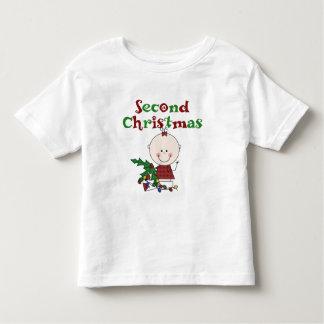 Natal da menina o ò caçoa feriados do bebê t-shirts