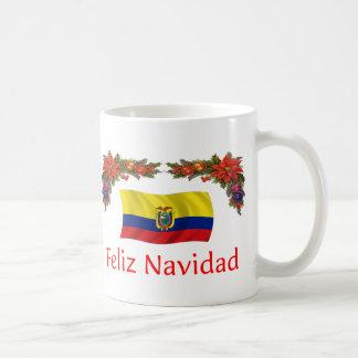 Natal de Equador Caneca De Café