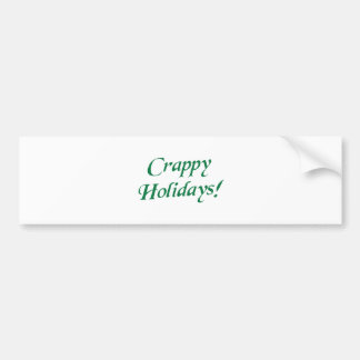 Natal de ínfima qualidade boas festas adesivo para carro