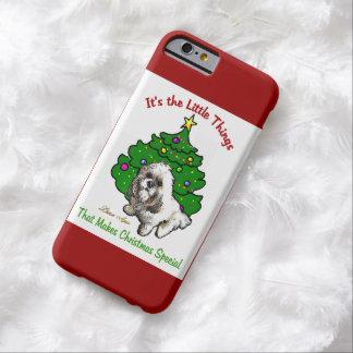Natal de Lhasa Apso Capa Barely There Para iPhone 6