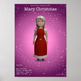 Natal de Mary Pôster