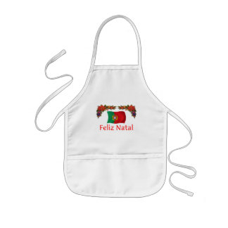 Natal de Portugal Avental Infantil