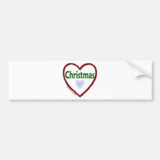 Natal do amor adesivo para carro