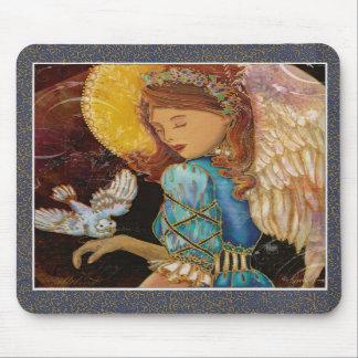 Natal do anjo & da pomba do renascimento mousepads