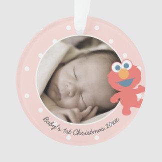 Natal do bebê de Elmo | o primeiro - adicione seu Ornamento
