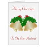 Natal do marido cartões