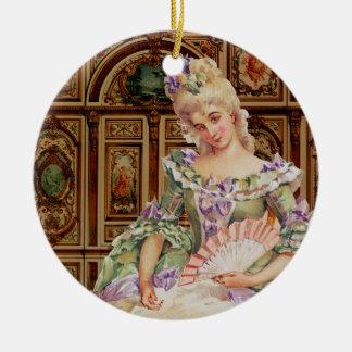 Natal do ornamento de Marie Antoinette