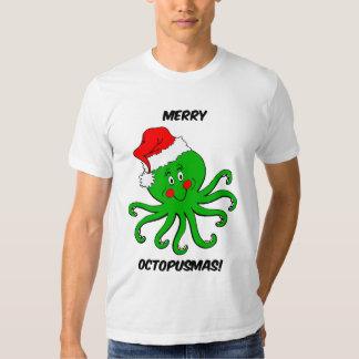 Natal do polvo tshirt