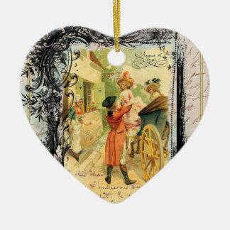 Natal do século XVIII romântico do estilo do