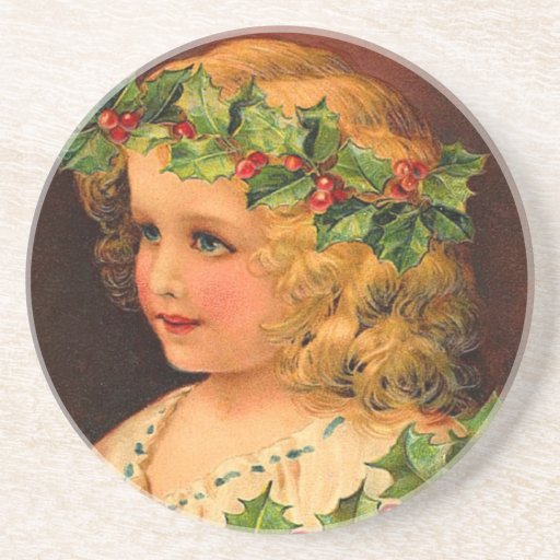 Natal do Victorian Porta Copo Para Bebidas