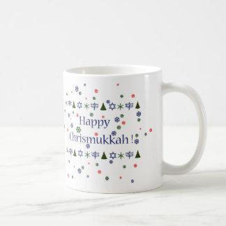 Caneca De Café Natal e caneca combinado de Hanukkah