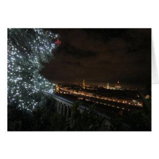 Natal em Florença Cartão