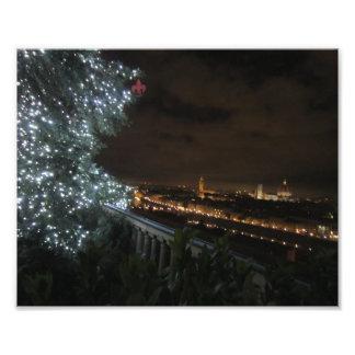 Natal em Florença Impressão De Foto