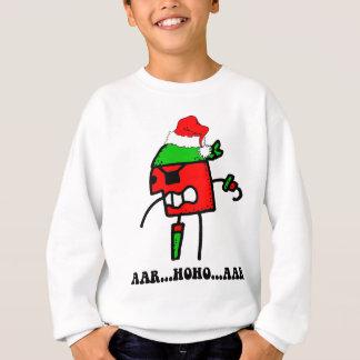 Natal engraçado do pirata tshirts