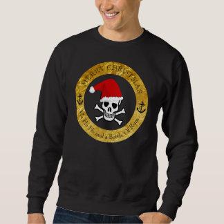 Natal feio do pirata da camisola sueter