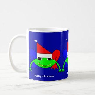 Natal feliz caneca de café