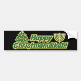 Natal feliz hanukkah Kwanzaa Adesivo Para Carro