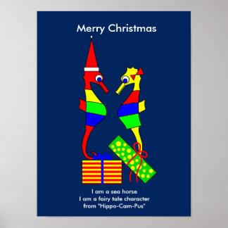 Natal feliz pôster