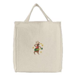 Natal musical - rena bolsa para compra