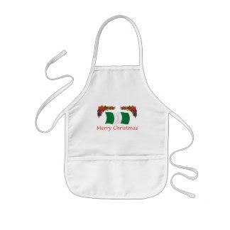 Natal nigeriano avental infantil