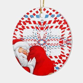 Natal Ornamento De Cerâmica