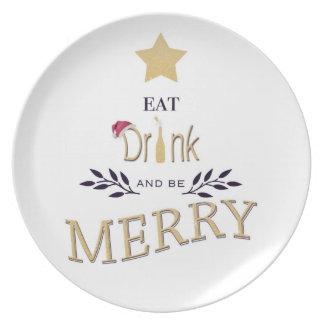 Natal Prato De Festa