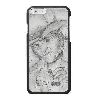 Natal - Scrooge em preto e branco Capa Carteira Incipio Watson™ Para iPhone 6