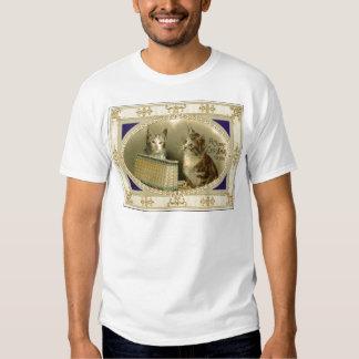 Natal vintage camisetas