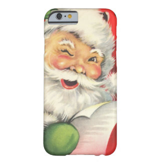 Natal vintage Papai Noel Capa iPhone 6 Barely There