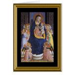 Natale de Buon - saraiva Mary no italiano Cartão Comemorativo