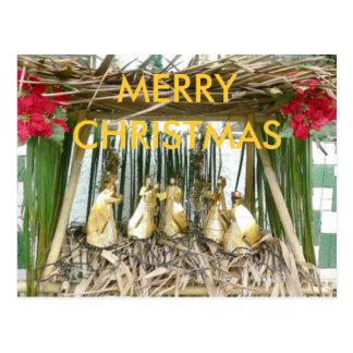 Natividade 1, FELIZ NATAL Cartão Postal