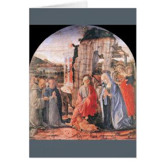 natividade de Francesco-di-Giorgio, cartão de