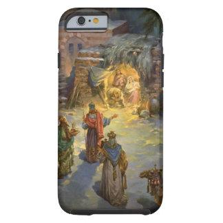 Natividade do natal vintage com Magi de visita Capa Tough Para iPhone 6