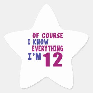 Naturalmente eu sei que tudo eu sou 12 adesito estrela