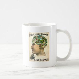 Natureza humana caneca de café