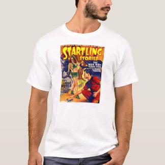 Nave espacial sobressaltado das histórias do SciFi Camiseta