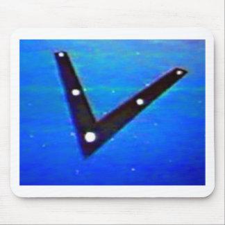 Navio de espaço do UFO Mouse Pad