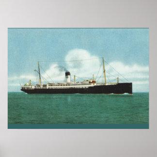 Navios históricos do vintage, navios de irmã de Ll Impressão